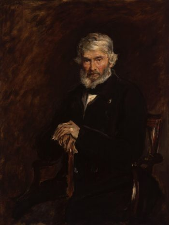 Thomas Carlyle | Sir John Everett Millais 1st | oil painting