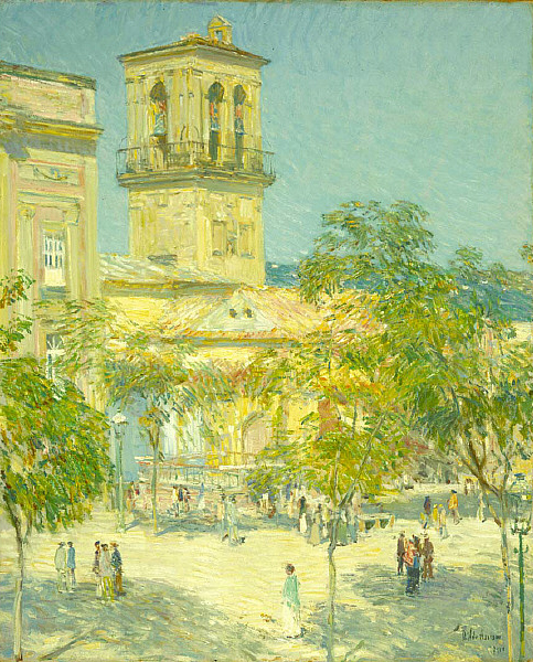 Street of the Great Captain Cordoba | Childe Hassam | oil painting