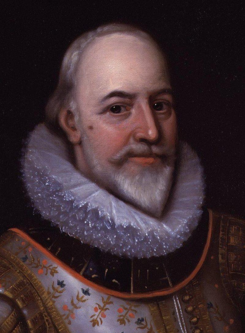 George Carew Earl of Totnes   Unknown Artist   oil painting