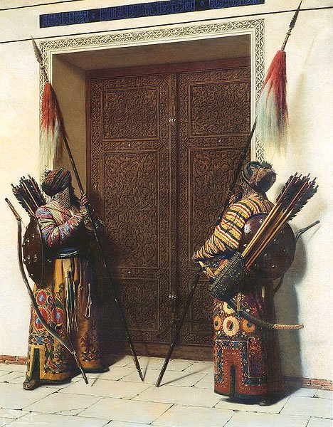 Doors of Timur (Tamerlane) 1871 1872 | Vasily Vereschagin | oil painting