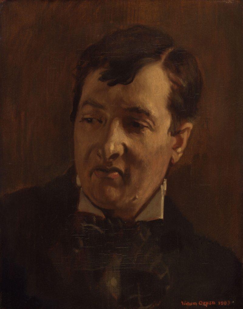 George Charles Beresford   Sir William Orpen   oil painting