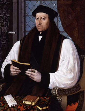 Thomas Cranmer | Gerlach Flicke | oil painting