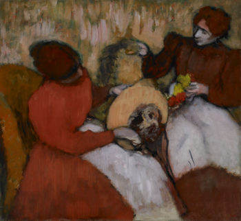 The Milliners | Edgar Degas | oil painting