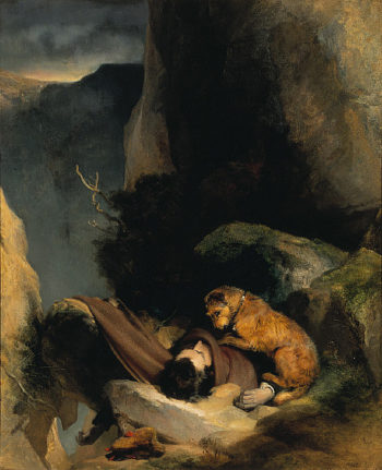 Attachment | Edwin Landseer | oil painting