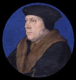 Thomas Cromwell portrait miniature with fur collar after Hans Holbein the Younger | Unknown Artist | oil painting