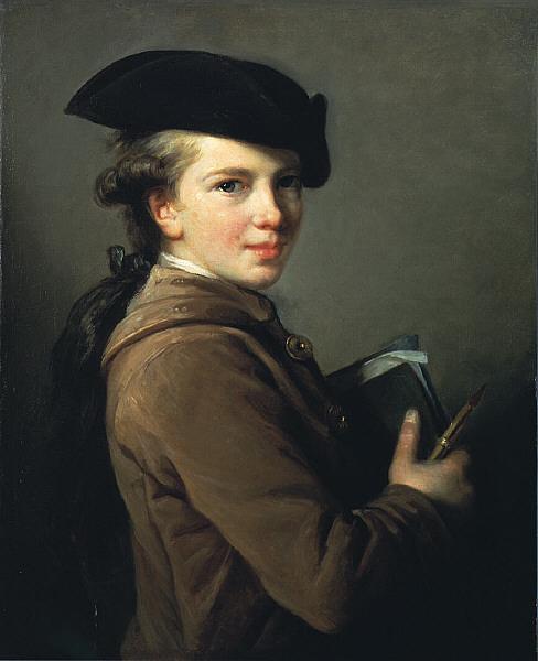 The Artists Brother   Elisabeth Vige Lebrun   oil painting