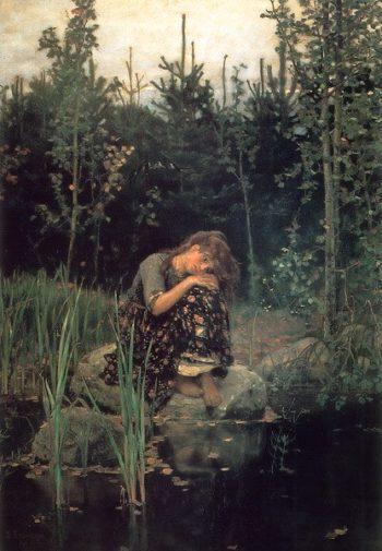 Alyonushka 1881 | Victor Vasnetsov | oil painting
