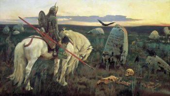 Knight at Crossroads 1882 | Victor Vasnetsov | oil painting