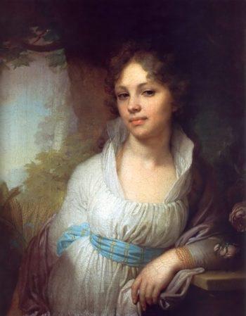 Portrait of Maria Lopukhina 1797 | Vladimir Borovikovsky | oil painting