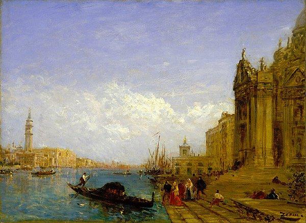 Venetian Scene | Felix Ziem | oil painting