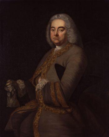 George Frideric Handel | Thomas Hudson | oil painting