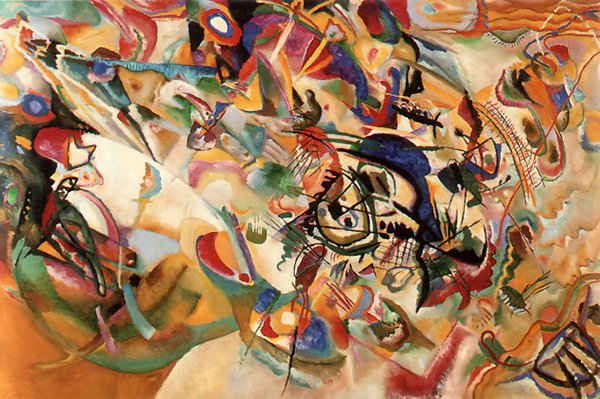 Composition No.7 1913 | Wassily Kandinsky | oil painting