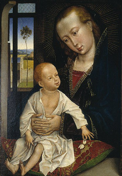 Virgin and Child | Follower of Rogier van der Weyden | oil painting