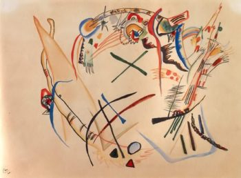 Suprematism Sketch 1920 | Wassily Kandinsky | oil painting