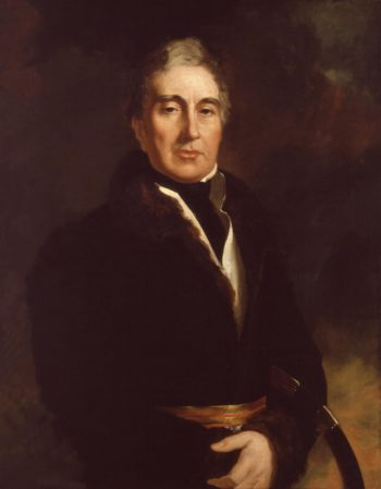 Thomas Graham Baron Lynedoch | Sir George Hayter | oil painting