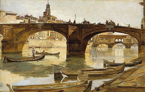 The Bridges | Frank Duveneck | oil painting