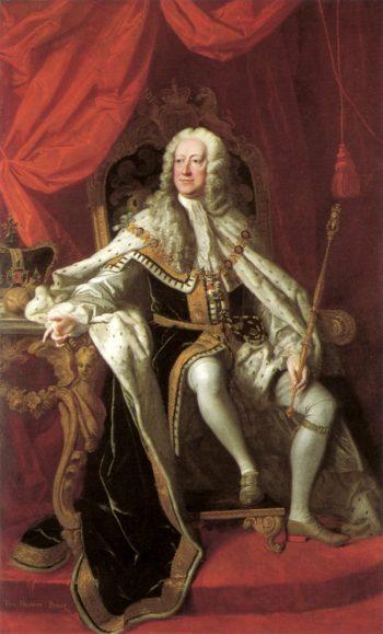 George II | Thomas Hudson | oil painting