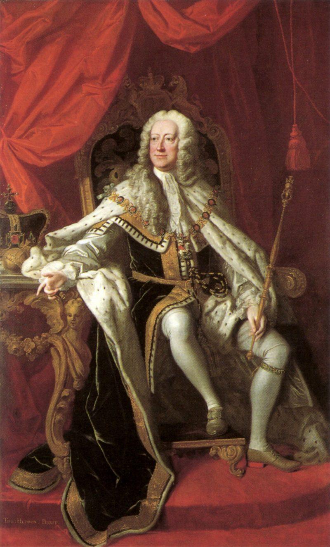 George II   Thomas Hudson   oil painting