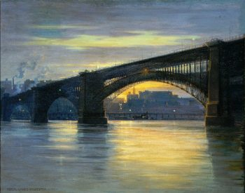 The Bridge | Frederick Oakes Sylvester | oil painting
