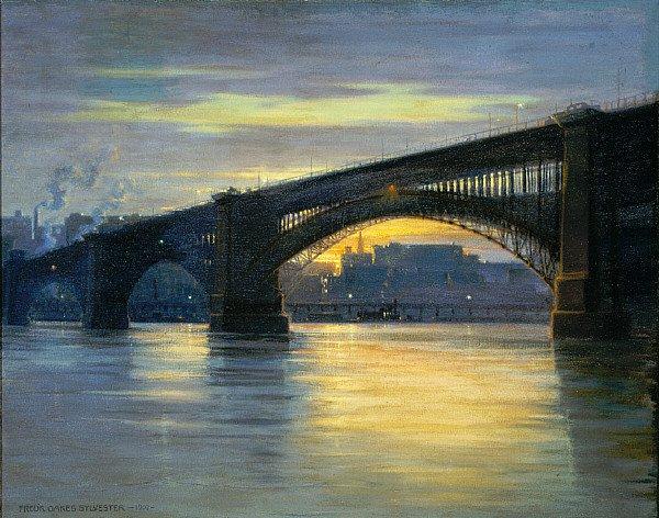 The Bridge | Frederick Oakes Sylvester | oil painting