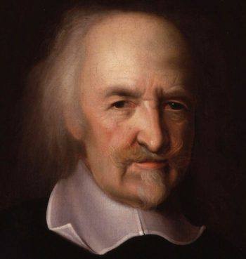 Thomas Hobbes portrait | Unknown Artist | oil painting