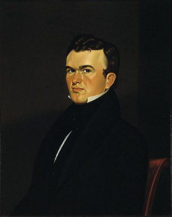 Self Portrait of the Artist | George Caleb Bingham | oil painting