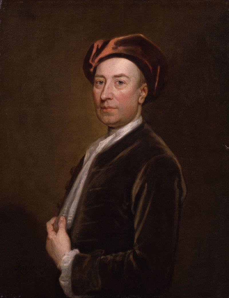 Thomas Hopkins   Sir Godfrey Kneller   oil painting