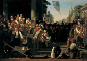 The Verdict of the People | George Caleb Bingham | oil painting