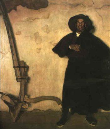 Man | Eduardo Chicharro Aguera | oil painting