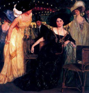 Retrato en grupo | Eduardo Chicharro Aguera | oil painting