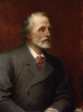 George Meredith | George Frederic Watts | oil painting