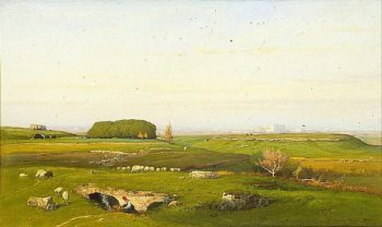 In the Roman Campagna | George Inness | oil painting