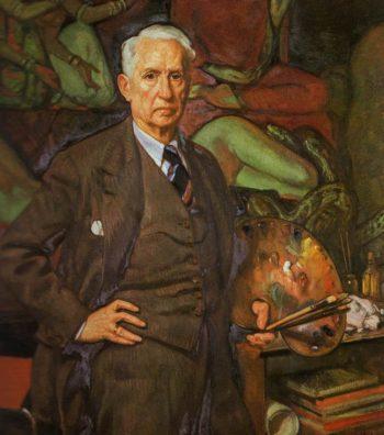 Self Portrait | Eduardo Chicharro Aguera | oil painting