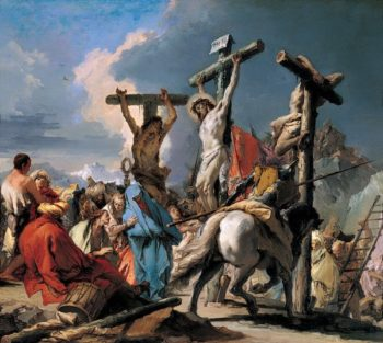 The Crucifixion | Giambattista Tiepolo | oil painting