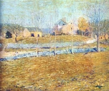 Abandoned Farm | Ernest Lawson | oil painting