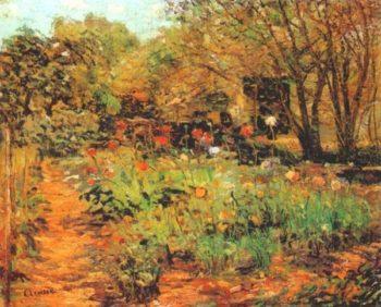 Garden Landscape | Ernest Lawson | oil painting