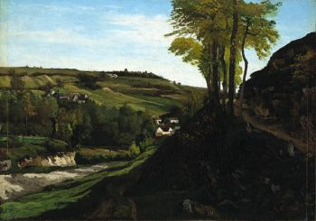 The Valley of Ornans | Gustave Courbet | oil painting