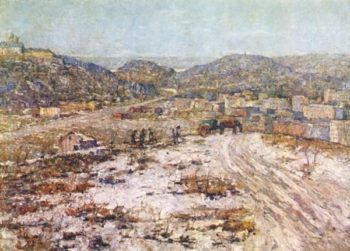 Hills at Inwood | Ernest Lawson | oil painting