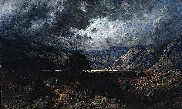 Loch Lomond   Gustave Dore   oil painting