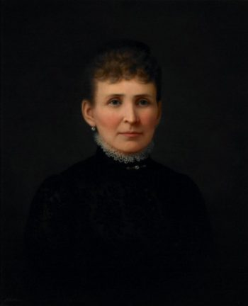 Portrait of a Woman | Hannah Brown Skeele | oil painting