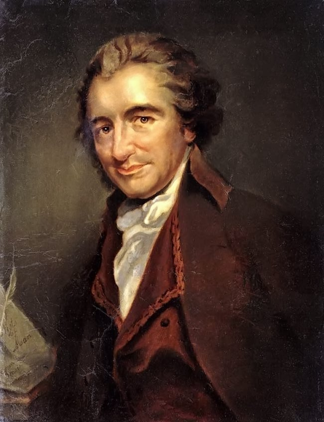 Thomas Paine | Unknown Artist | oil painting