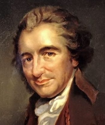 Thomas Paine cropped | Unknown Artist | oil painting