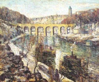 The Bridge | Ernest Lawson | oil painting