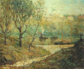 University Heights New York | Ernest Lawson | oil painting