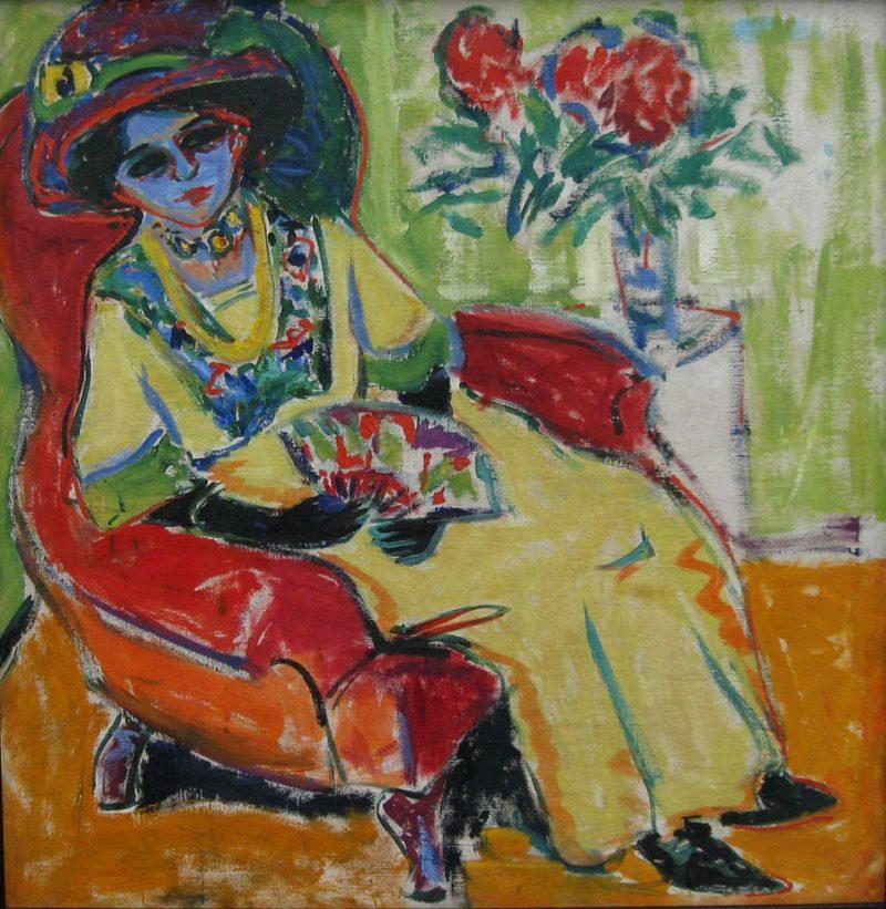 Dodo   Ernst Ludwig Kirchner   oil painting
