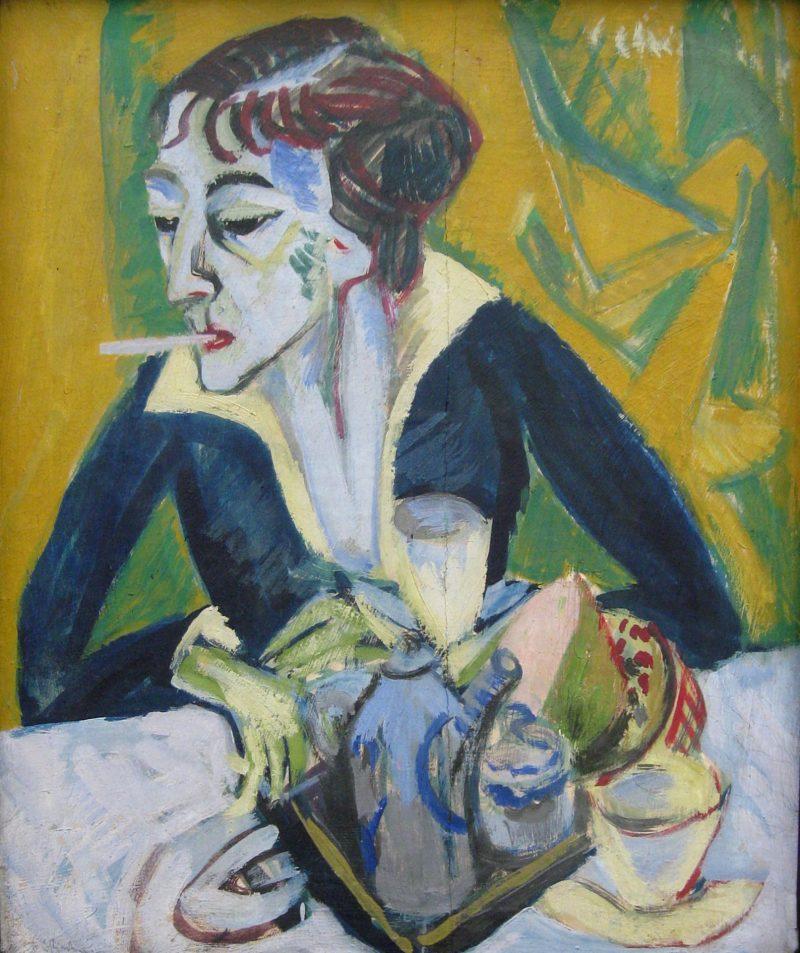 Erna 1930 | Ernst Ludwig Kirchner | oil painting