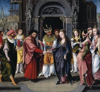 The Marriage of the Virgin | Jan Mertens the Younger | oil painting