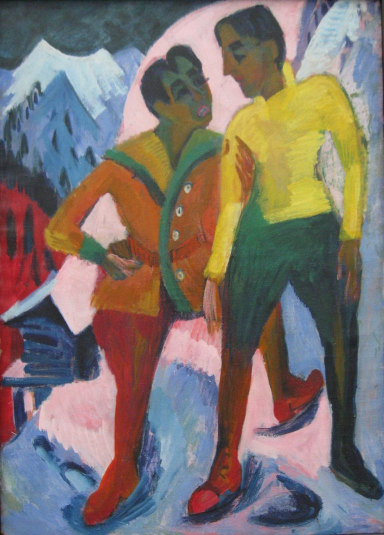 Mardersteig   Ernst Ludwig Kirchner   oil painting