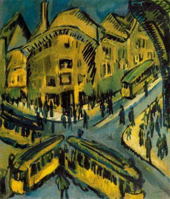 Nollendorfplatz | Ernst Ludwig Kirchner | oil painting