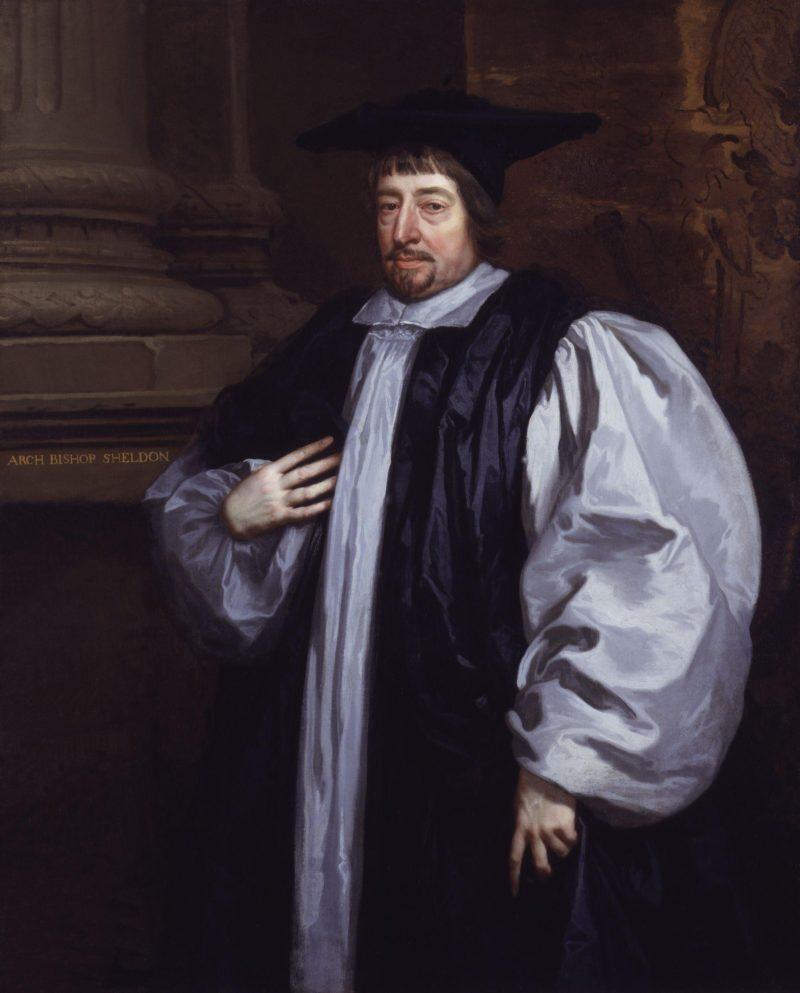 Gilbert Sheldon   Sir Peter Lely   oil painting